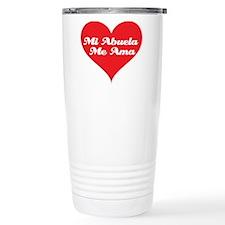 Grandma Loves Me (Spanish) Travel Mug