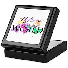 My Airman Colors My World Keepsake Box