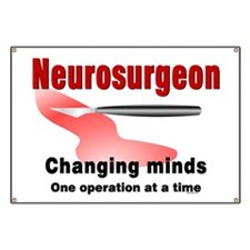 Neurosurgeon Red Banner