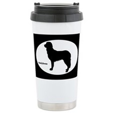 Stabyhoun Silhouette Travel Mug