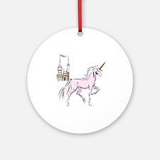 Unicorn Fantasy Ornament (Round)