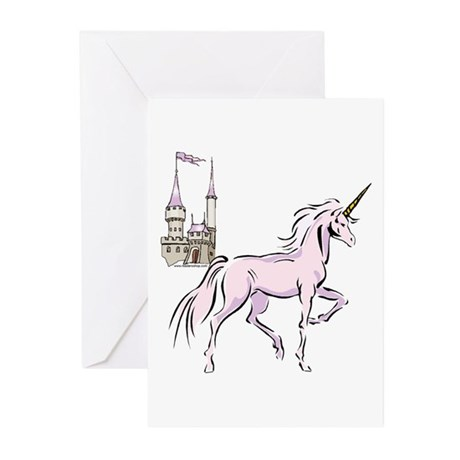 Unicorn Fantasy Greeting Cards (Pk of 10)