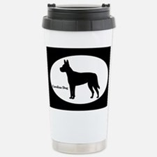 Carolina Dog Silhouette Travel Mug