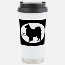 Finnish Lapphund Silhouette Travel Mug