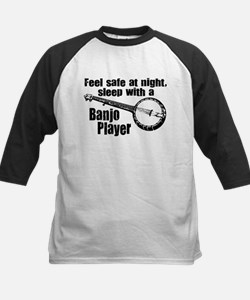 Feel Safe with a Banjo Player Kids Baseball Jersey