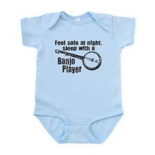 Feel Safe with a Banjo Player Infant Bodysuit