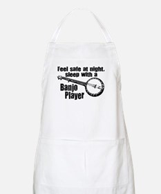 Feel Safe with a Banjo Player BBQ Apron