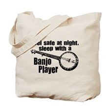 Feel Safe with a Banjo Player Tote Bag