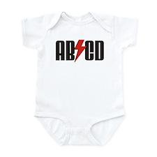 ABCD Rocker Baby Infant Bodysuit