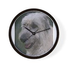 Gentle Irish Wolfhound Wall Clock