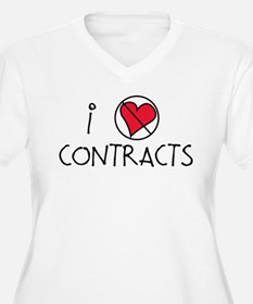 I Luv Contracts T-Shirt