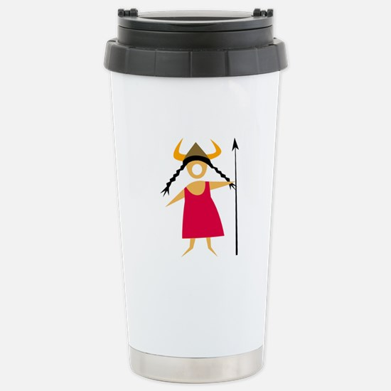 Hildegarde Stainless Steel Travel Mug