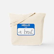 Brat Tote Bag