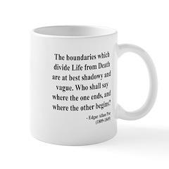 Edgar Allan Poe 16 Mug