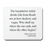 Edgar Allan Poe 16 Mousepad