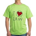 I Love LRW Green T-Shirt
