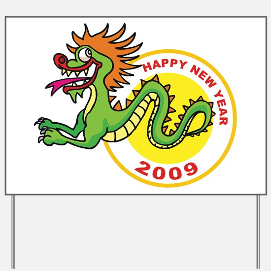 Happy Chinese New Year 2009 Yard Sign