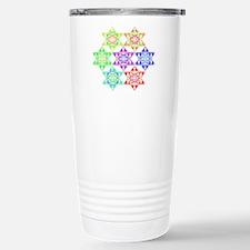 Star Pattern Stainless Steel Travel Mug