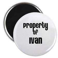 Property of Ivan Magnet