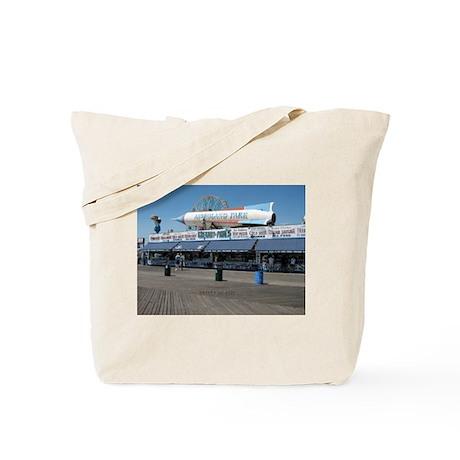 Coney Island's Astroland Rocket Tote Bag