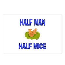 Half Man Half Mice Postcards (Package of 8)