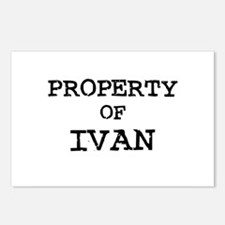 Property of Ivan Postcards (Package of 8)