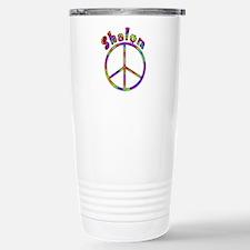 Shalom Peace Stainless Steel Travel Mug
