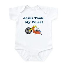 Jesus Took My Wheel Onesie