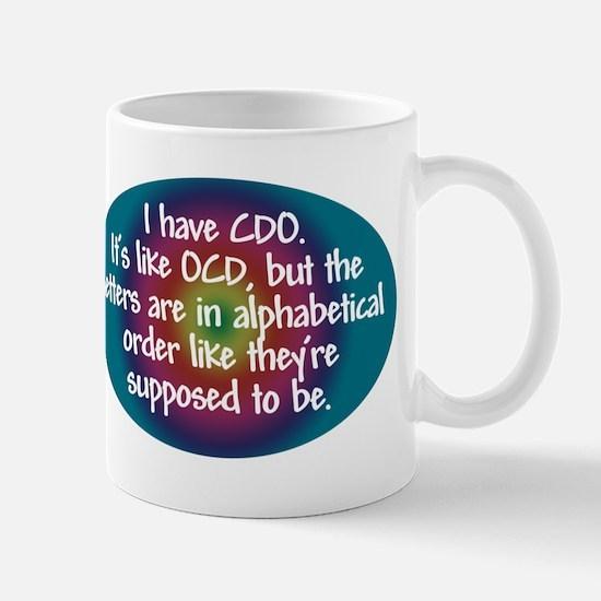 OCD / CDO spectrum Mug
