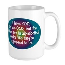 OCD / CDO spectrum Ceramic Mugs