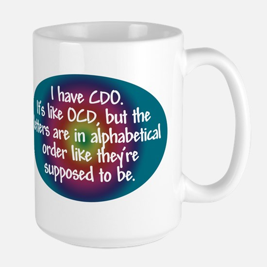 OCD / CDO spectrum Large Mug