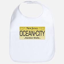 Ocean City NJ License Tag Bib