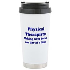Physical Therapists Travel Mug