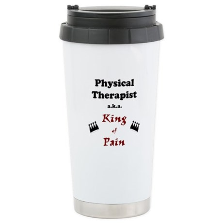 King of Pain Stainless Steel Travel Mug