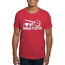I Love My Banjo Player T-Shirt