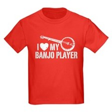 I Love My Banjo Player T