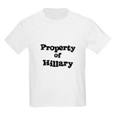 Property of Hillary Kids T-Shirt