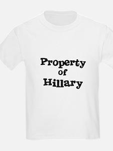 Property of Hillary Kids T-Shirt