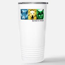 Be Kind to Animals Travel Mug