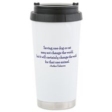 Saving One Life At a Time Travel Mug