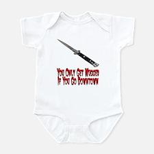 You Get Mugged Infant Bodysuit