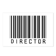 Director Barcode Postcards (Package of 8)