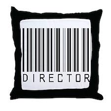 Director Barcode Throw Pillow