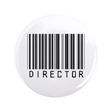 "Director Barcode 3.5"" Button"