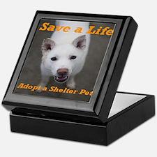 Save a Life, Adopt a Shelter Keepsake Box