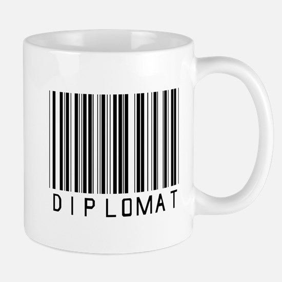 Diplomat Barcode Mug