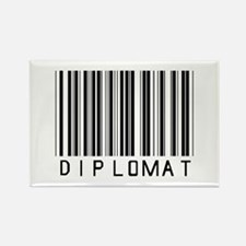 Diplomat Barcode Rectangle Magnet