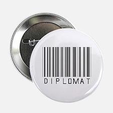 """Diplomat Barcode 2.25"""" Button"""