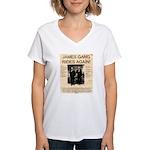 The James Gang Women's V-Neck T-Shirt