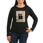 The James Gang Women's Long Sleeve Dark T-Shirt